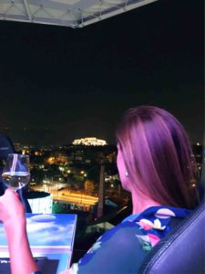 Restaurante DINNER IN THE SKY Atenas