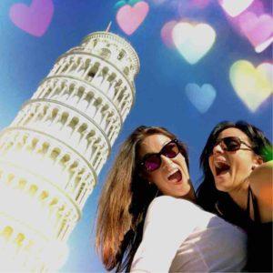 Viajandoentacones en PISA